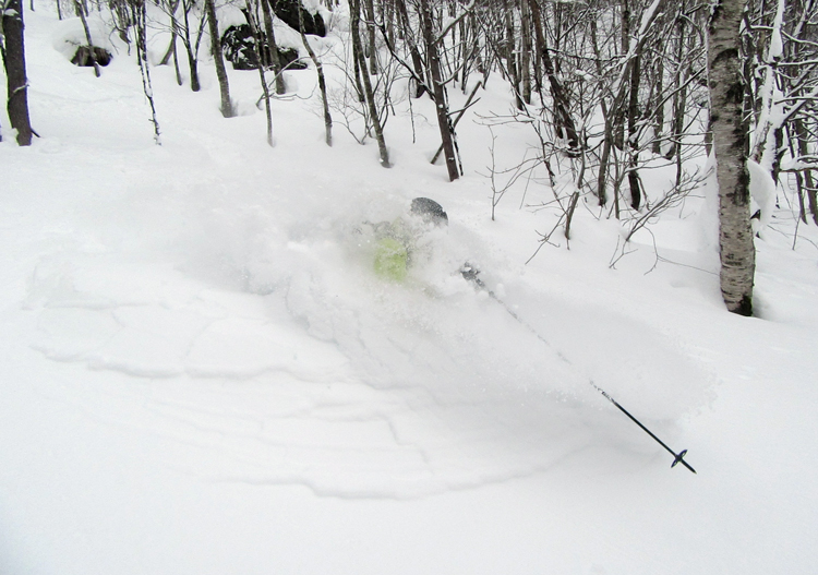 So much powder on offer