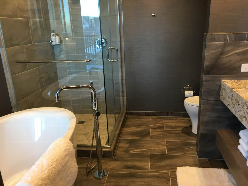 Mega sized bathroom