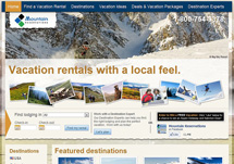 Click here to find lodging in dozes of ski resorts in the USA, Canada and South America