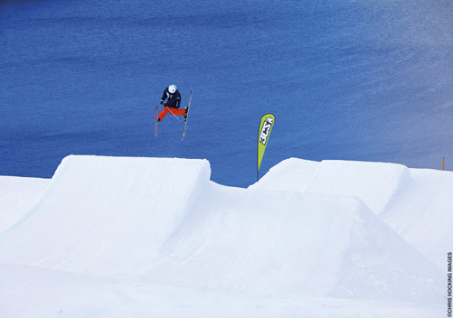 The terrain parks are very good   Photo: Chris Hocking Images