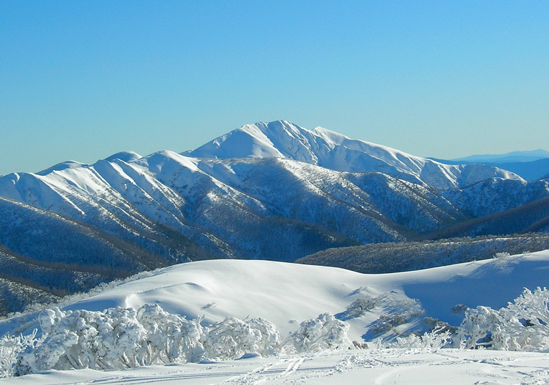 Mt Hotham views to Mt Feathertop