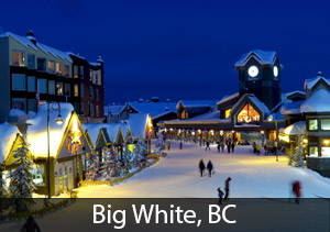 Big White - Rated #3 best overall ski resort in Canada