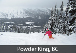 Powder King, BC - #3 rated resort in Canada for Powderhounds