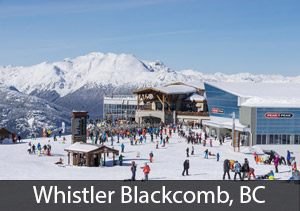 Whistler Blackcomb - rated best overall ski resort in Canada