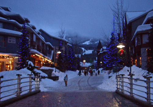 Whistler has vibrant nightlife