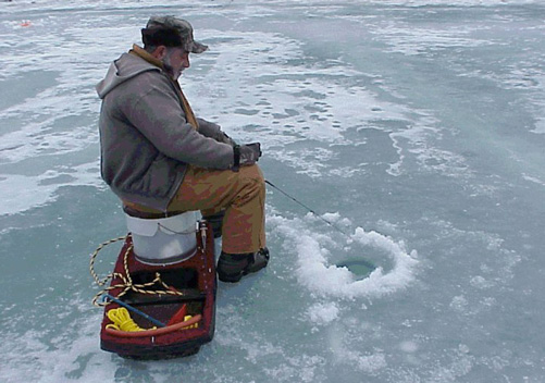 Language and customs in canada for Ice fishing canada