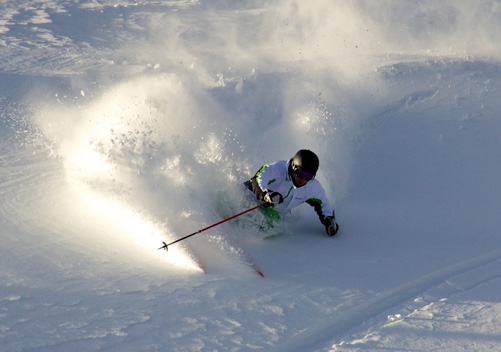 The powder is superb: photo - Freeride Media