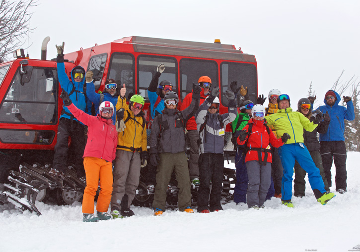 Powder Stagecoach Cat Skiing