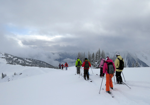 Selkirk Wilderness Skiing