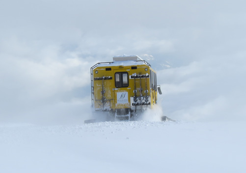 Selkirk Wilderness Skiing Snowcat