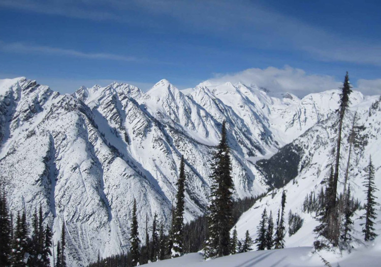 Eagle Pass HeliSkiing | Gates Creek Area