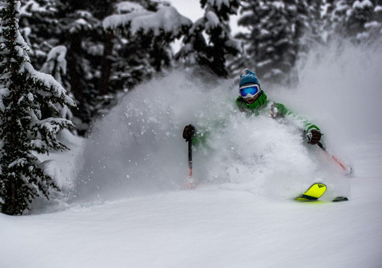 Last Frontier Heli Skiing scores 25m of snow per season on average