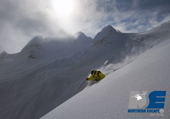 The snowpack is relatively stable meaning steep skiing in deep snow is possible