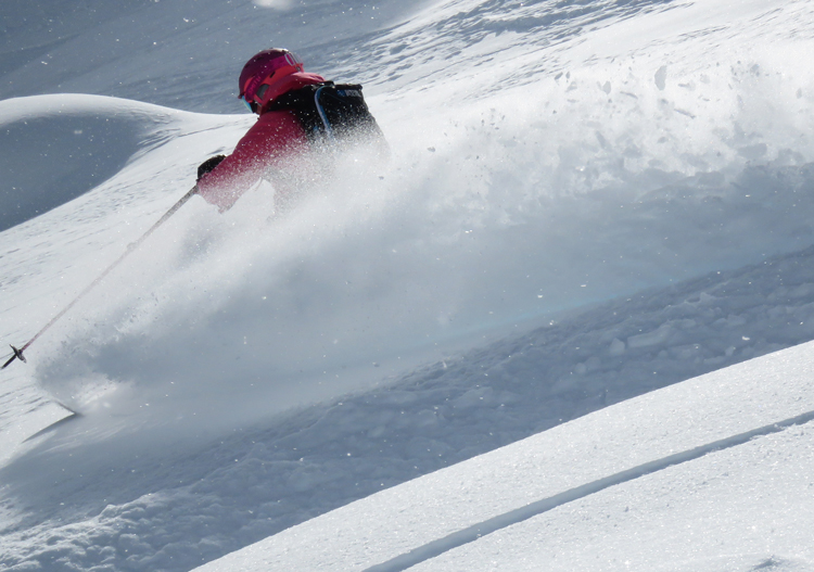 Northern Escape Heli Skiing - ahhh, the sweet silence of powder whooshing under your feet