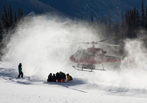 Skeena Heliskiing uses B2 & B3 helicopters to access the best terrain