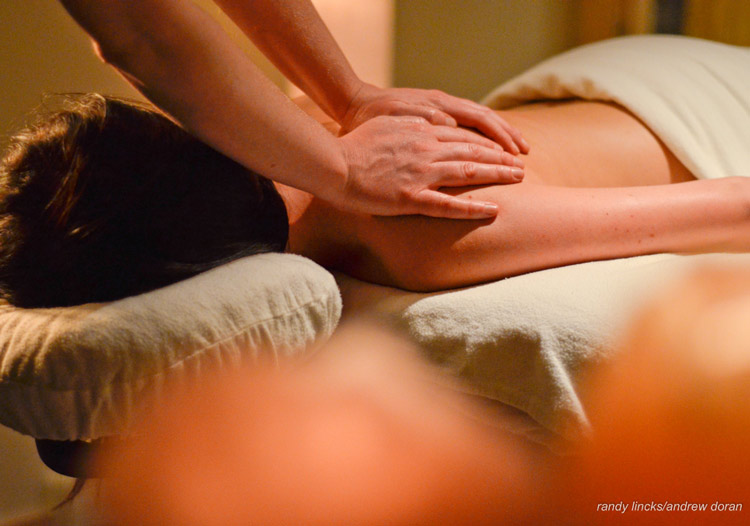 TLH Heliskiing - massage services are available for an extra cost (included in the Platinum Private Packages)