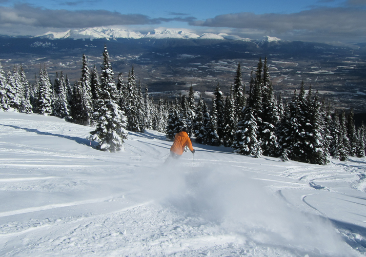 Hudson Bay Mountain Resort Ski Smithers Bc Canada