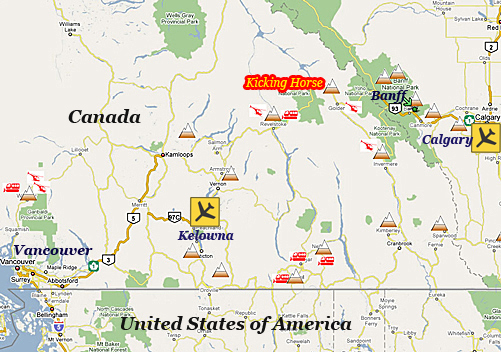 Travel To Kicking Horse Bc Canada