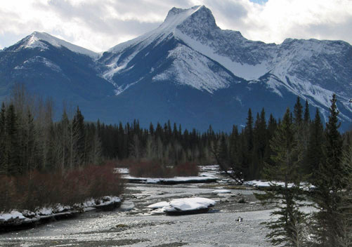 The gorgeous Kananaskis region