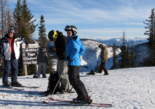 Ski Panorama for the expert terrain too!