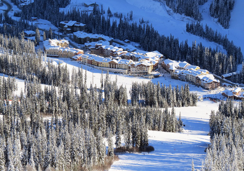 Sun Peaks has an abundance of ski in ski out accommodation