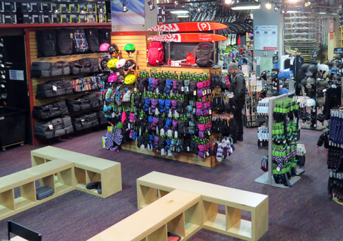 There are lots of Whistler ski rental shops
