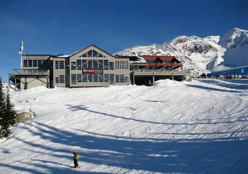 Rendezvous day lodge on Blackcomb