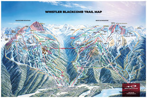 Whistler Blackcomb Trail Map - download pdf