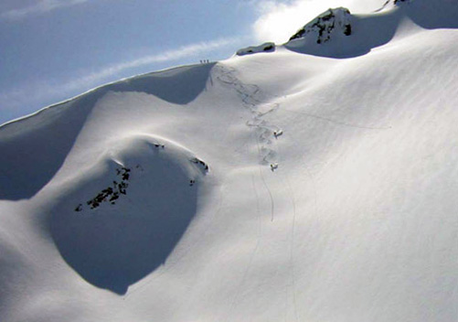 Coast Range Heli Skiing is based at Whistler BC