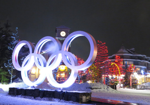 Whistler Blackcomb hosted some of the skiing events of the 2000 Winter Olympics