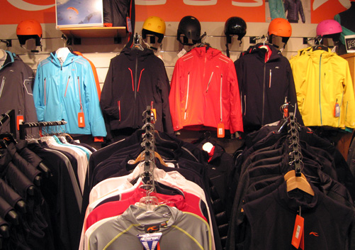 Whistler clothing stores