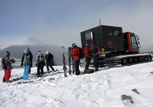 Silverton Powdercats Colorado - great value & a fun day out!