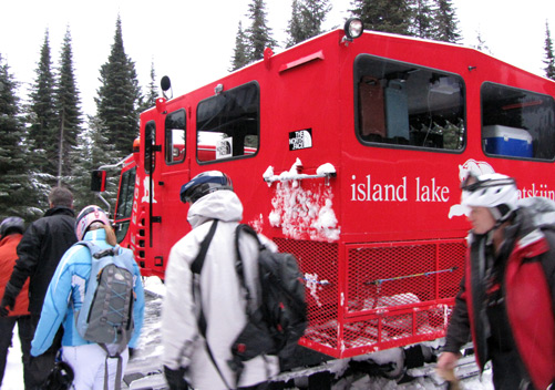 Island Lake Cat Skiing (Fernie BC) - the luxury cat skiing option
