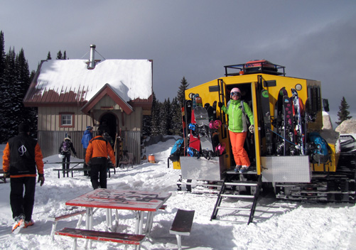 Aspen Powder Tours - guaranteed freshies in Aspen - luxury all the way!