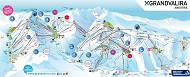Grandvalira Ski Trail & Piste Map