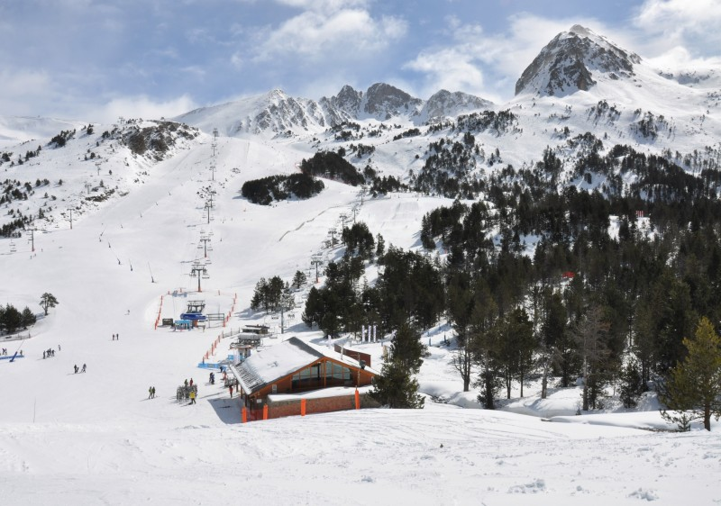 Grandvalira Ski Resort Andorra is the largest in the Pyrenees