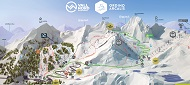 Vallnord – Ordino Arcalis Ski Trail & Piste Map