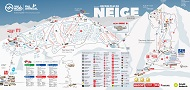 Vallnord - Pal Arinsal Ski Trail & Piste Map
