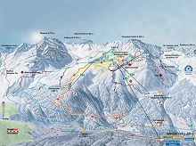 Gargellen Ski Trail Map