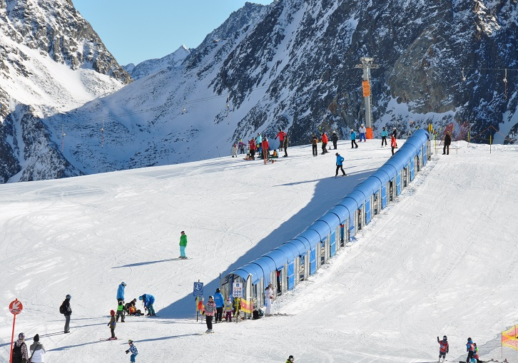 Innsbruck ski resorts have wonderful children, family and beginner facilities.