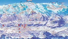 Innsbruck Ski Resorts Map