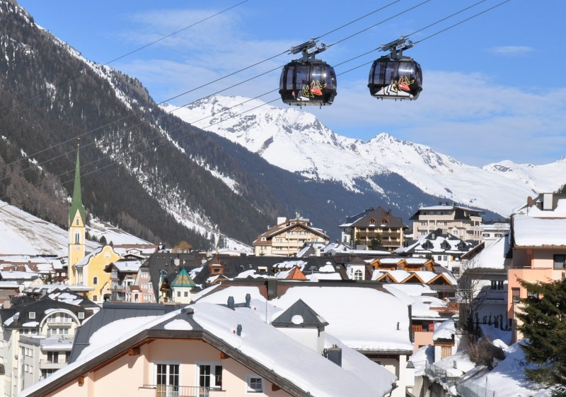 Ischgl ski resort Austria starts & finishes right in the village!