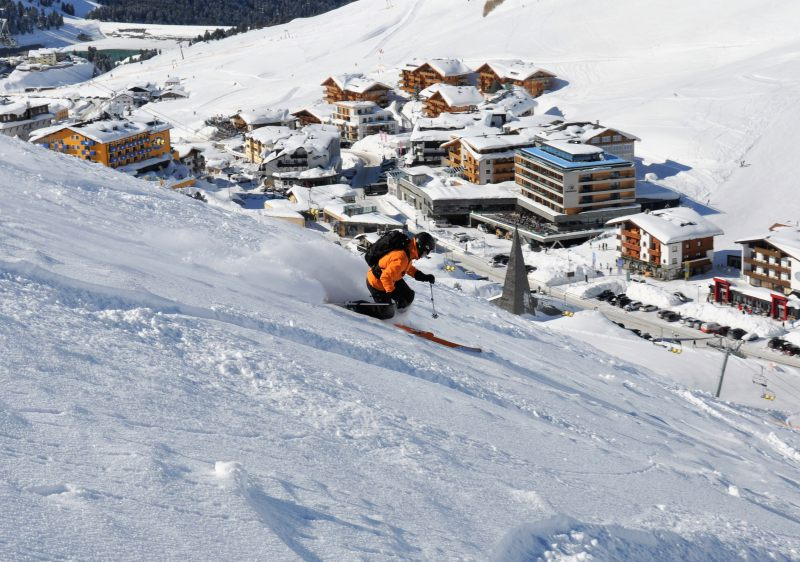 Kuhtai is the ultimate ski in ski out resort.