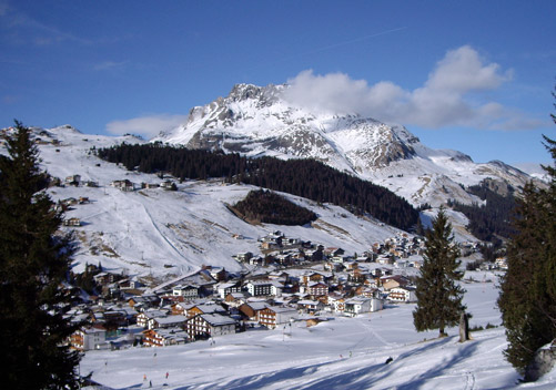 Much of the Lech lodging is ski-in ski-out