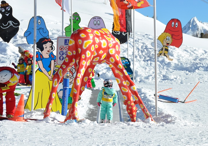 Mayrhofen ski resort has some excellent chikdren's facilities.