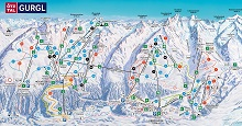 Gurgl Ski Trail Map