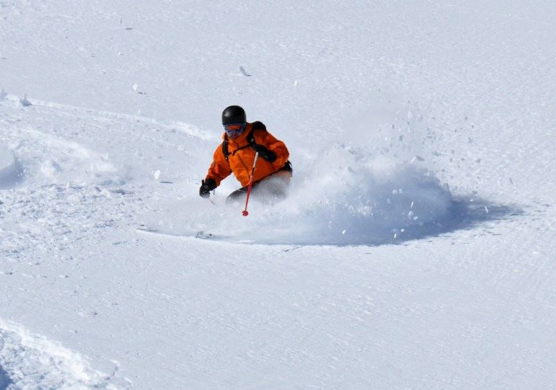 Pitztal Glacier ski resort is a Powderhounds playground.