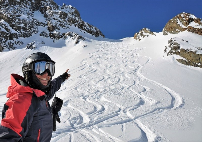 Put your mark on Pitztal Glacier ski resort, a Powderhounds Paradise.