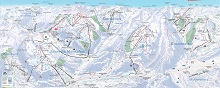 Montafon-Brandnertal Ski Resort Map