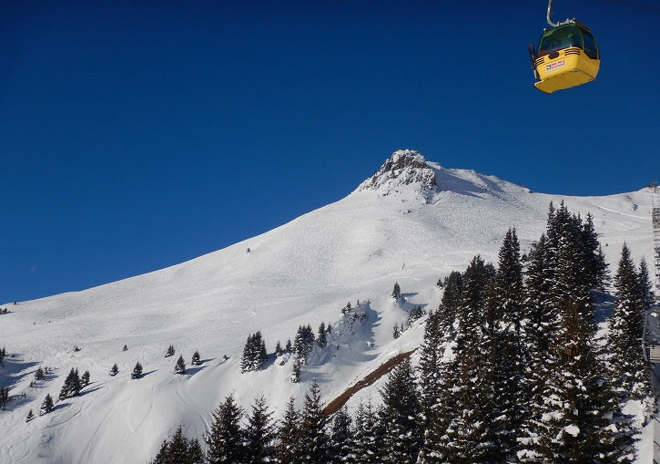 Helluva place. SkiCircus Saalbach has awesome freeride terrain.